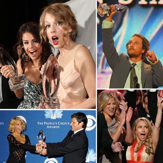 Look Back at Fun People's Choice Award Highlights!