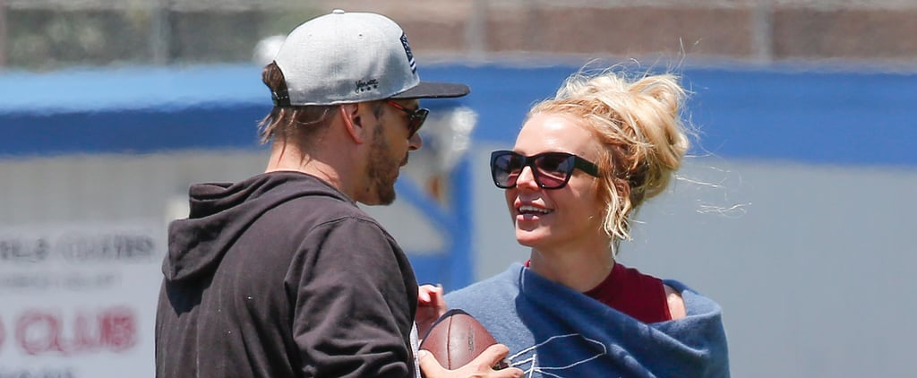 Britney Spears and Kevin Federline Reunite at Their Sons' Soccer Game