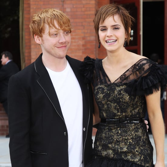 Video of Emma Watson and Rupert Grint's Harry Potter Kiss Behind the Scenes