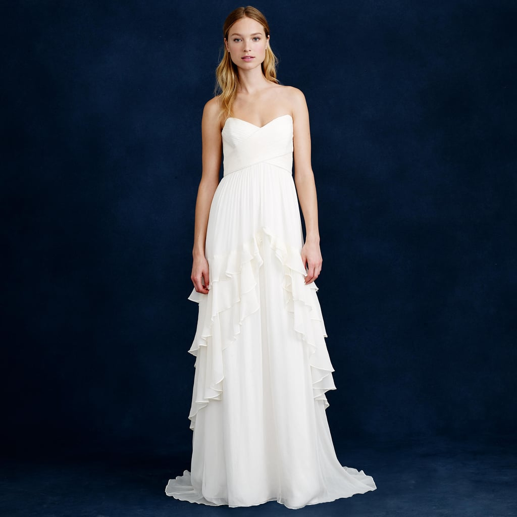 Best beach wedding dresses popsugar fashion for J crew wedding dresses