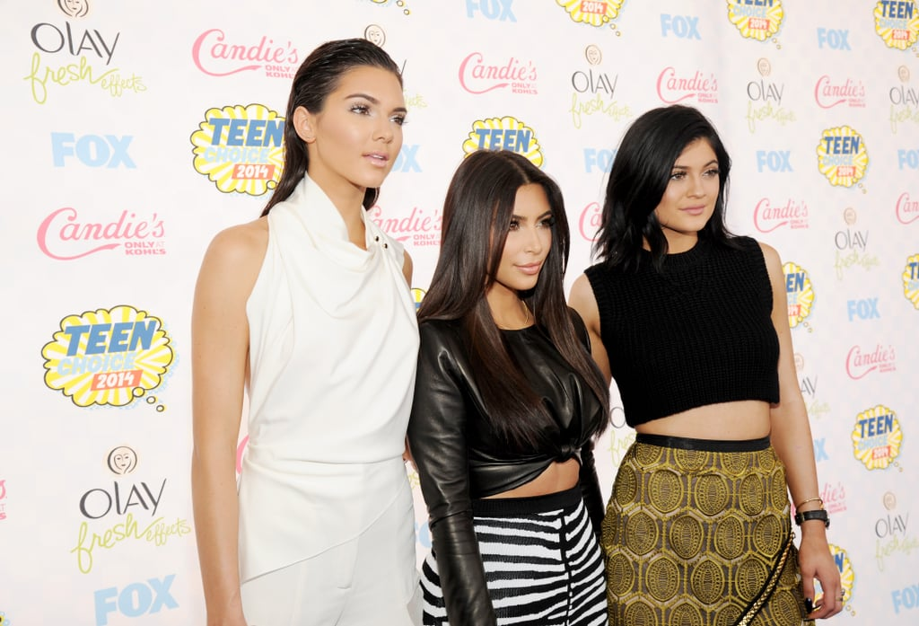 Kim and Kendall Hit the Stage With Kylie on Her Birthday