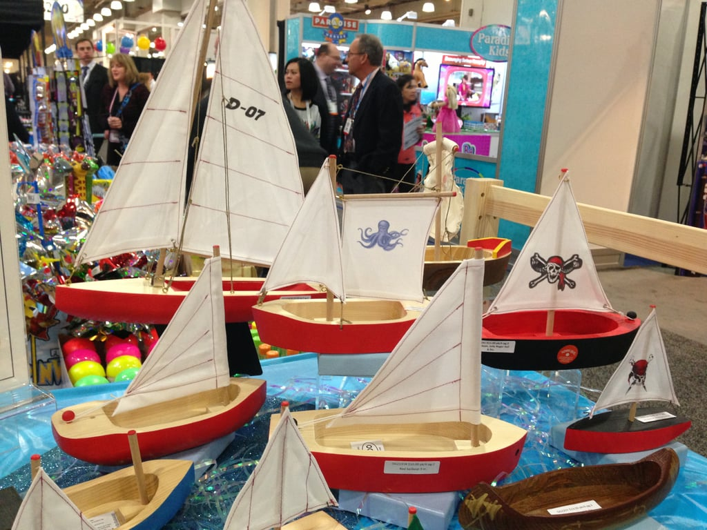 These sailboat models from German-based Ogas are so beautiful.