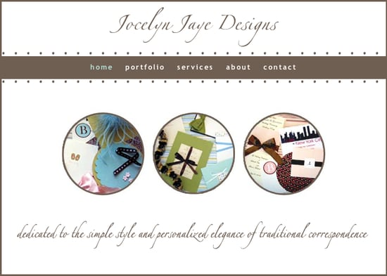 Jocelyn Jaye Designs: Personalized Elegance