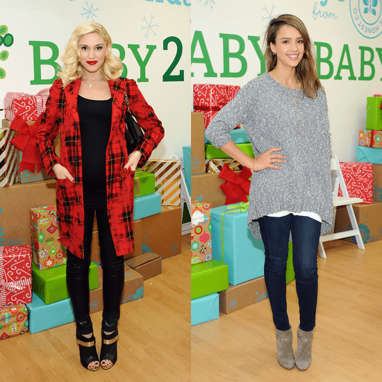 Jessica Alba at Baby2Baby Holiday Party | Video
