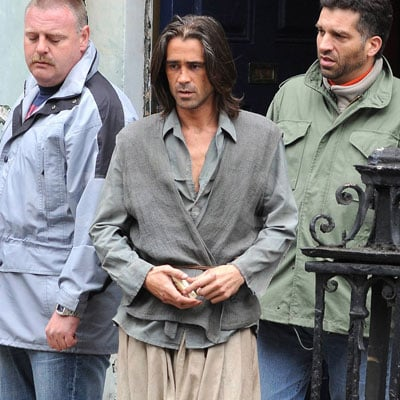 Colin Farrell on the Set of Triage
