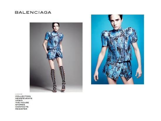 Fab Site: Balenciaga.com