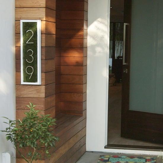 House Number Sign DIY