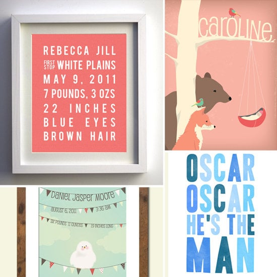 It's All About Me: Personalized Nursery Wall Art