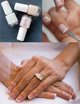 Wedding Nails: The Quintessential French Manicure