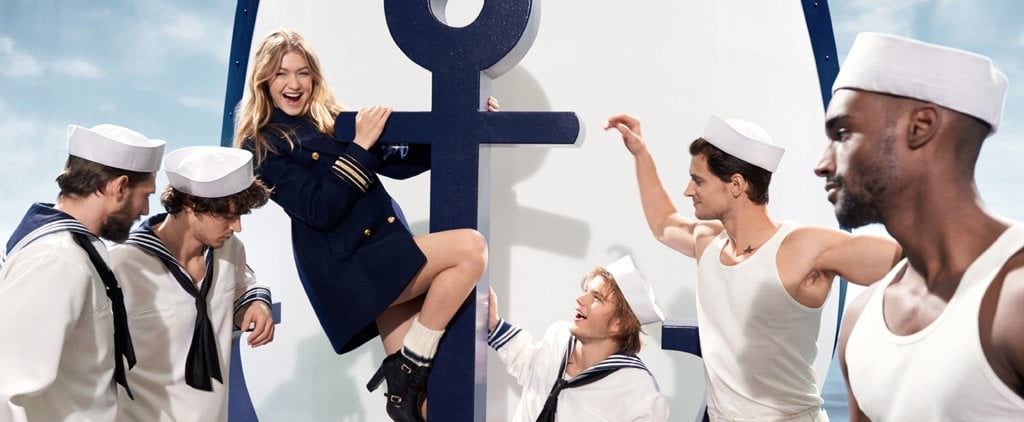 Gigi Hadid Keeps Giving Us Sneak Peeks of Her Tommy Hilfiger Collection