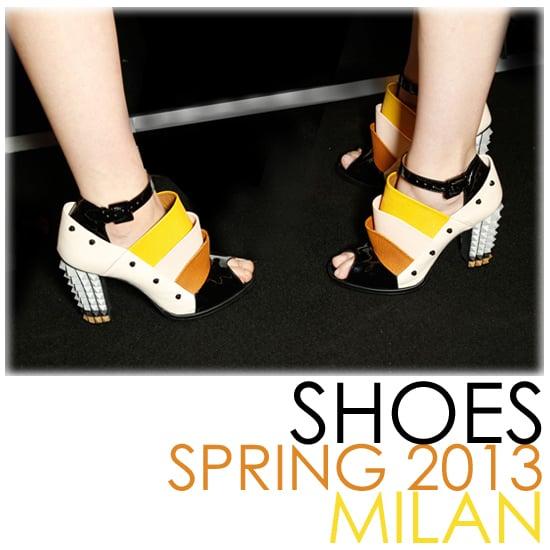 Best Spring 2013 Shoes | Milan Fashion Week Runways