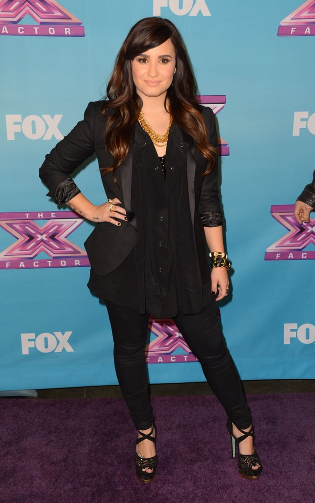 Demi Lovato did not have any protégés in the finale.