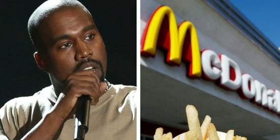 Kanye West Penned The Craziest Poem About McDonald's In Frank Ocean's New Zine