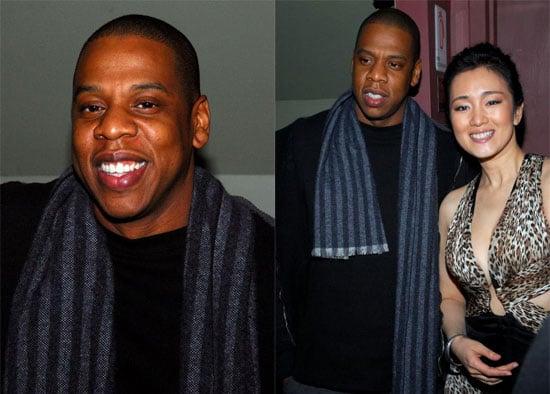 Jay-Z Likes a Chica Cherry Cola