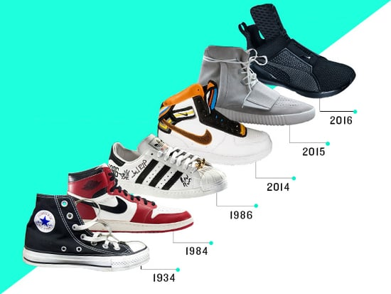 An Unofficial History of Celebrity Sneaker Collaborations