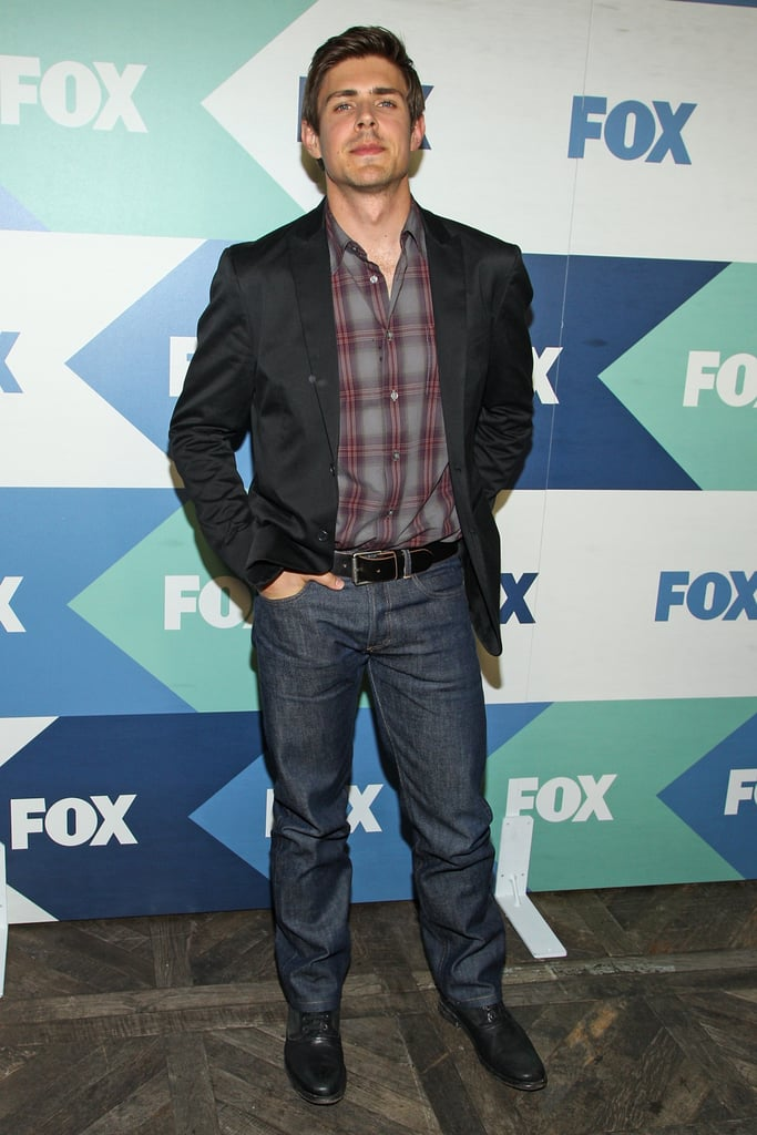 Chris Lowell came out for the Summer TCA Press Tour's Fox All-Star Party.