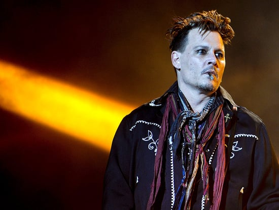 Johnny Depp Seemed 'Totally with It' at Friday Night's Performance in Lisbon, Hours After Amber Heard Accused Him of Domestic Ab