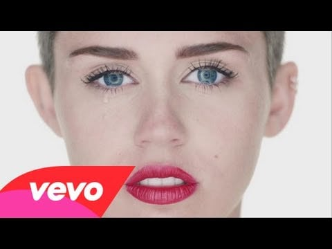 """Miley Cyrus's """"Wrecking Ball"""""""