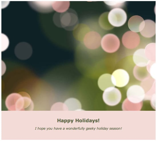 Send Your Christmas Cards Online