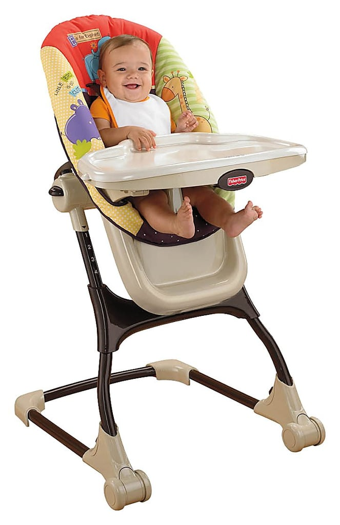 Fisher Price Luv U Zoo EZ Clean High Chair ($90)