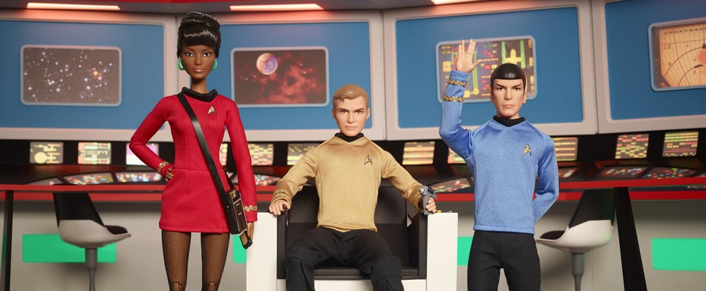 "These Star Trek Collector's Edition Barbies Are Cool Enough to Make You Yell ""Khan"""