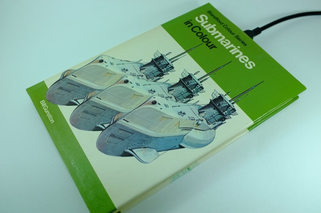 An education book gets multipurposed with Submarines in Color ($156).