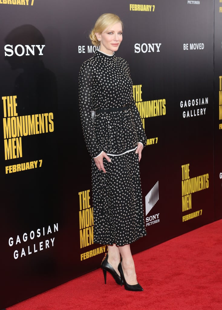 Cate looked regal on the red carpet.