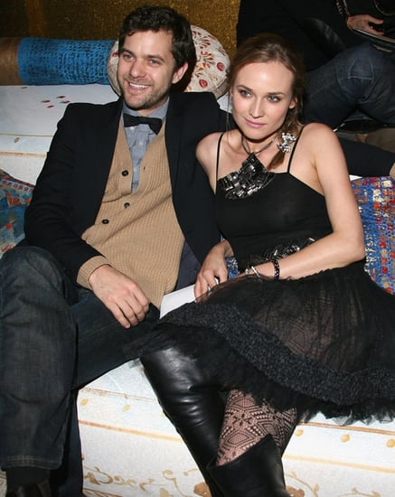 Pictures of Diane Kruger and Joshua Jackson at Chanel Show in Paris