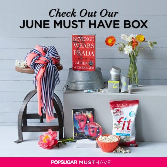 POPSUGAR Must Have Box June 2013 Contents
