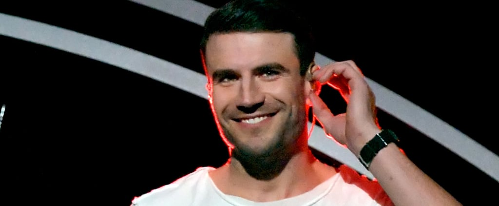 Let's Just Take a Moment to Revel in All of Sam Hunt's Hotness at the Grammys
