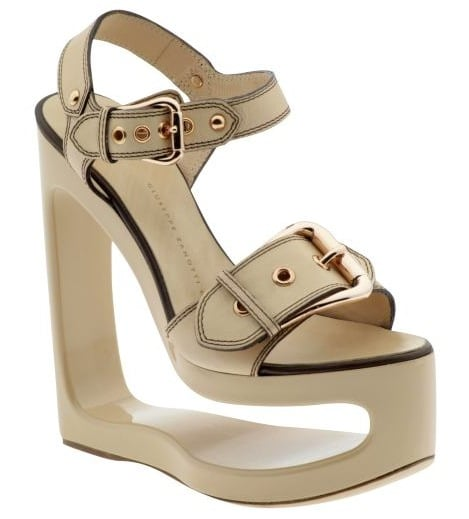 Giuseppe Zanotti Architectural Wedge Sandal: Love It or Hate It?