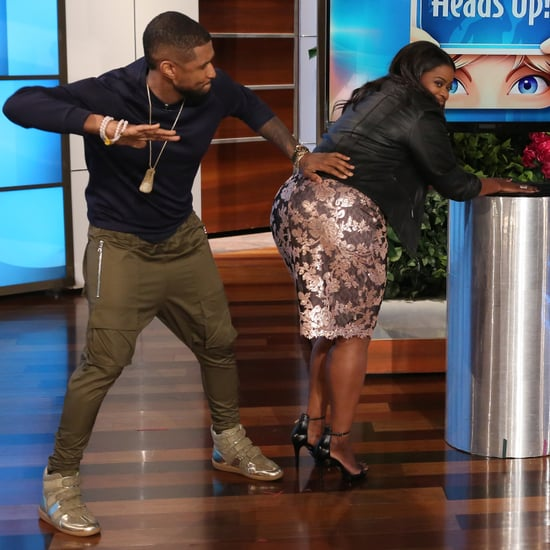 Usher and Octavia Spencer Play Heads Up on Ellen