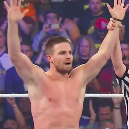 Stephen Amell at SummerSlam 2015 | Video