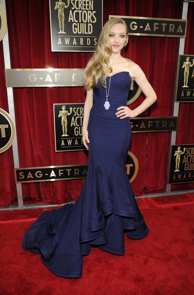 Amanda Seyfried attended the 2013 SAG Awards.