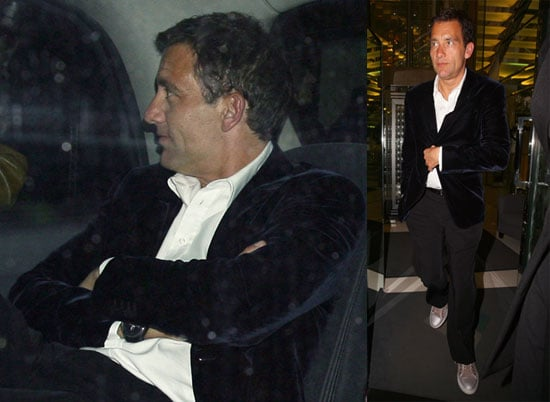 Photos of Clive Owen and His Wife Sarah-Jane Fenton Out to Dinner in London at the Ivy