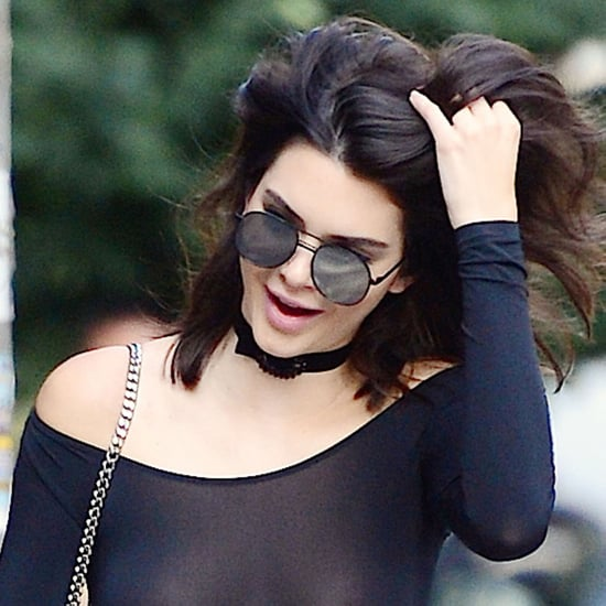 Kendall Jenner Nipple Piercing Pictures in NYC