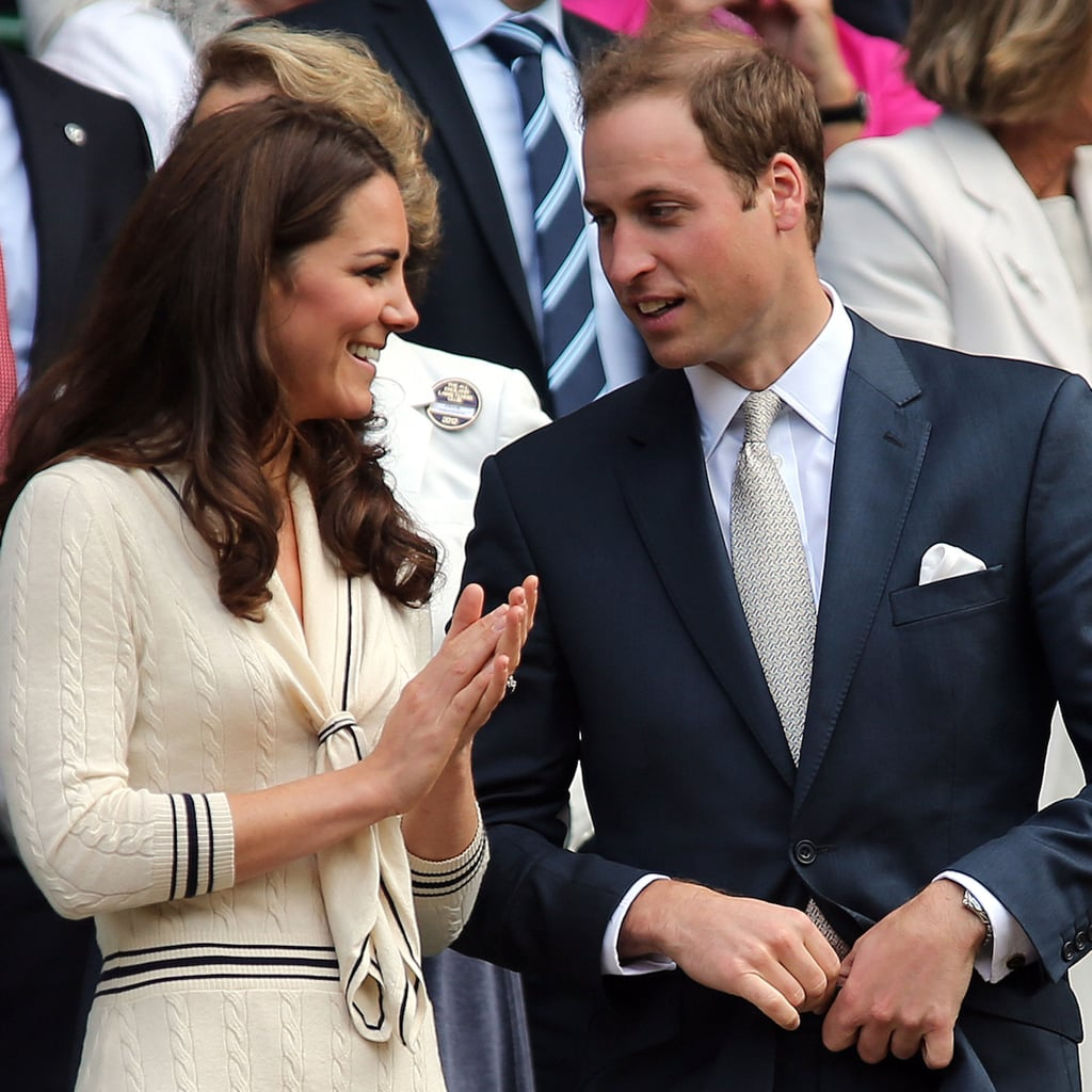 Kate Middleton and Prince William Attend Wimbledon 2012