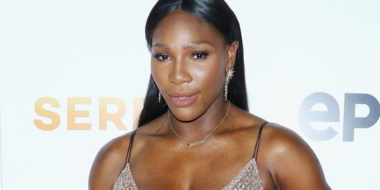Serena Williams Steps Out In A Thigh High Slit AND A Crop Top