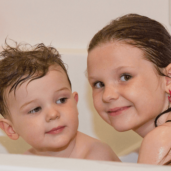 When Siblings Should Stop Bathing Together