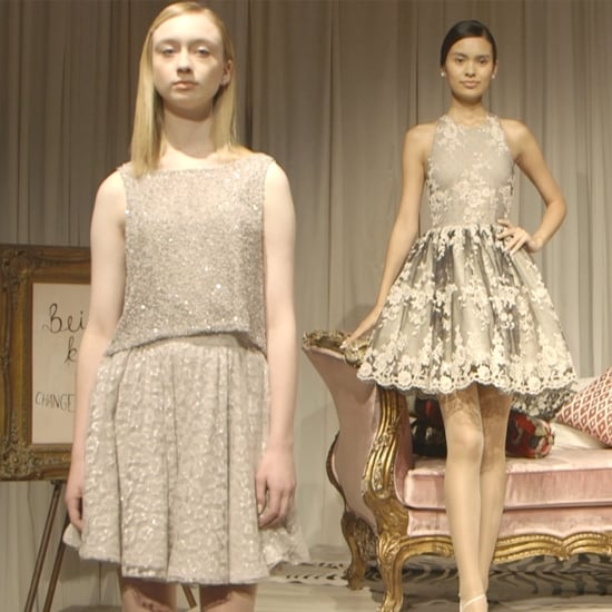 Alice + Olivia Does Sparkle, Crop Tops, and '50s All at Once