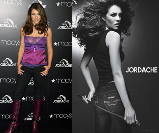 Fab Flash: Liz Hurley Makes Jordache Sexy