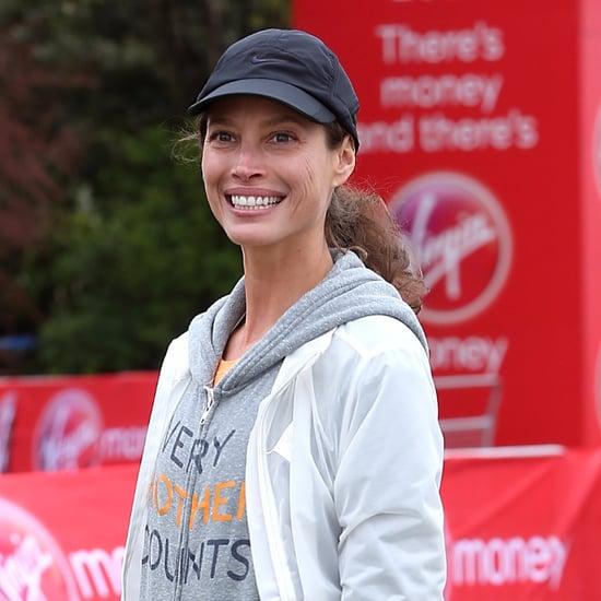 Christy Turlington Runs London Marathon 2015