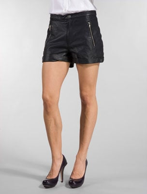 <b>Leather Shorts</b>. Cheap Monday $90 @ Tobi