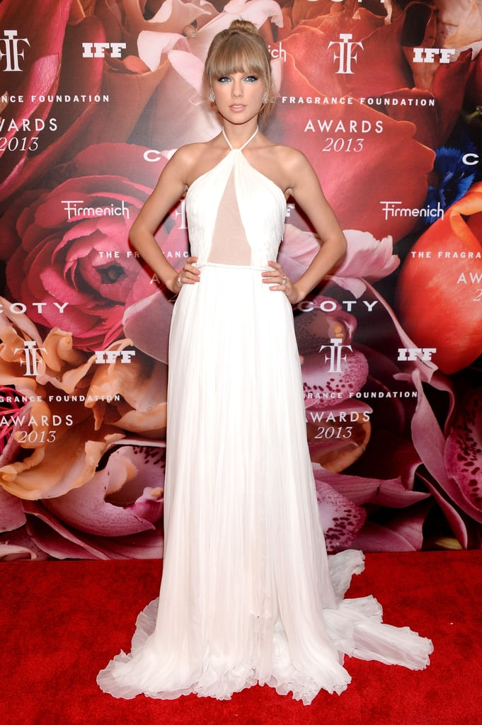 Taylor Swift at the 2013 Fragrance Foundation Awards in New York.