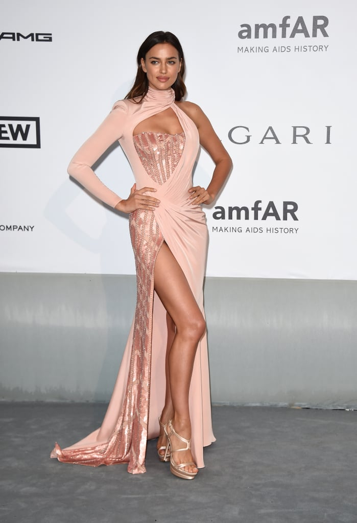 Irina Shayk at the amfAR Cinema Against AIDS Gala