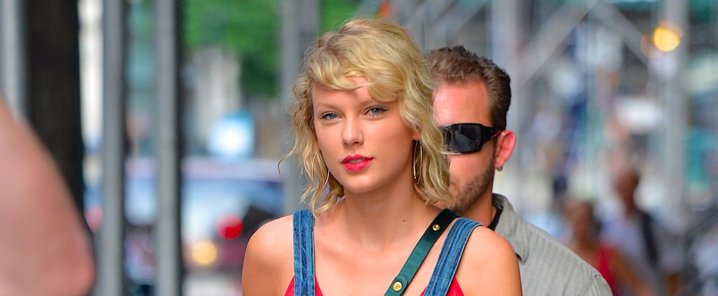 Taylor Swift Wearing Large Gold Hoops Is Something You Have to See to Believe