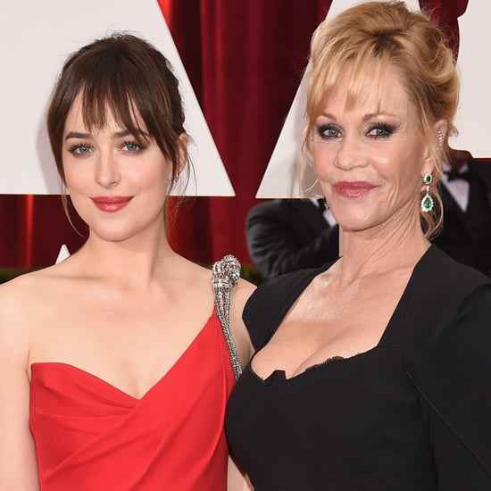 Melanie Griffith Oscars Interview About Fifty Shades of Grey