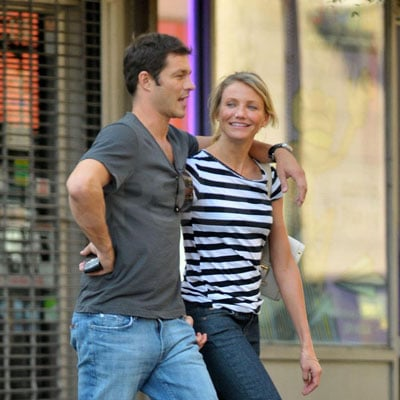 Cameron Diaz and Paul Sculfor Out in NYC 2008-09-22 13:00:00