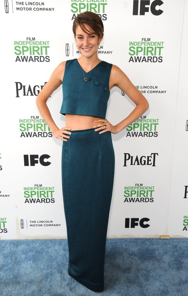 Shailene Woodley at the 2014 Spirit Awards