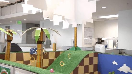 Sega Office Prank With Sonic the Hedgehog